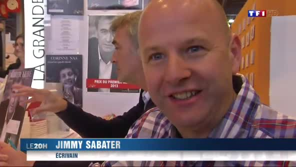 Jimmy Sabater au Journal de TF1 de Claire Chazal